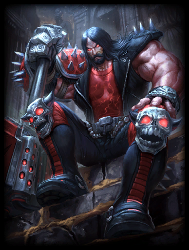 Heavy Metal Skin card