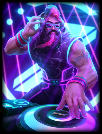 Heaven's Rave Skin card