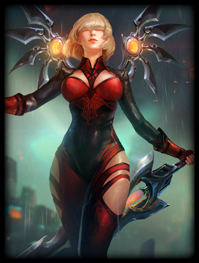 Scarlet Judgement Skin card