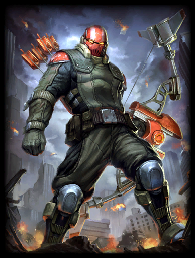 Iron Crow Skin card