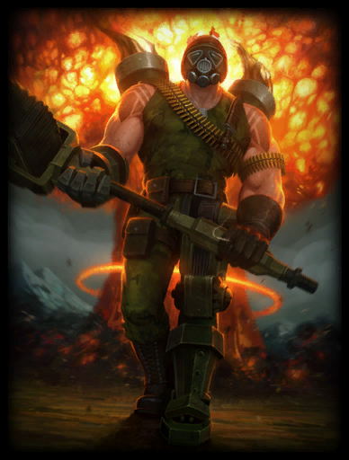 Full Metal Vulcan Skin card