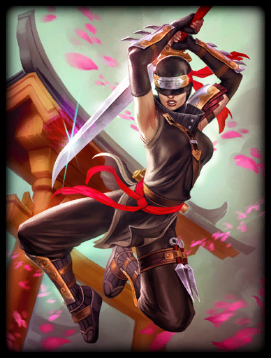 Blind Vengeance Skin card