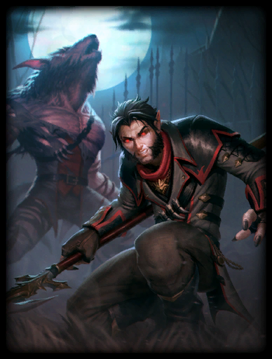 Beast Within Skin card