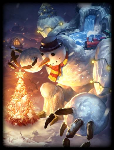 Snowman Skin card