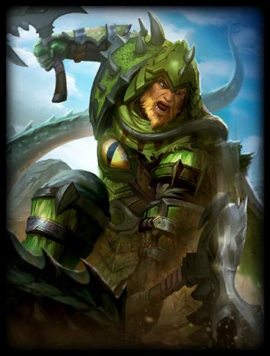 Dragonsbane Skin card