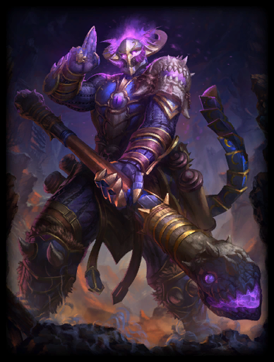 Abyssal Warrior Skin card