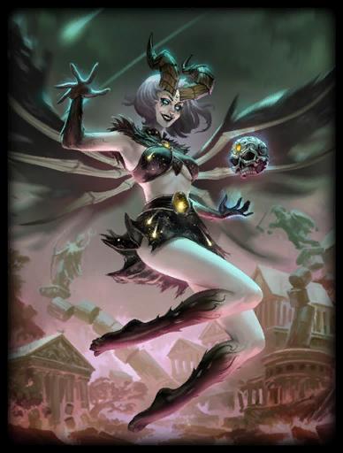 Oblivion Queen Skin card
