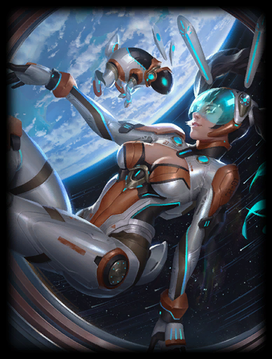Lunar Explorer Skin card