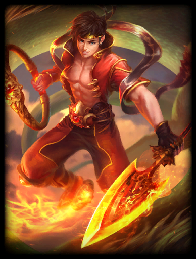 Fire Lord Skin card