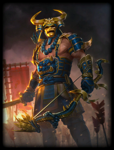 Legendary Skin card