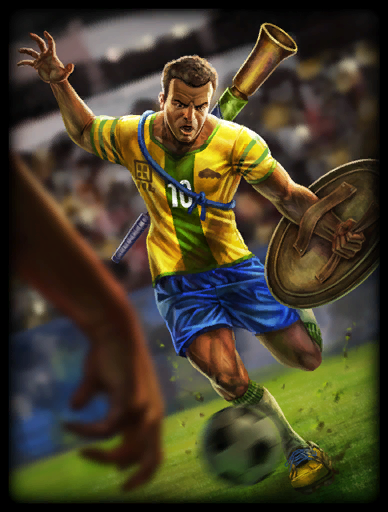 Football Star 2014 Skin card
