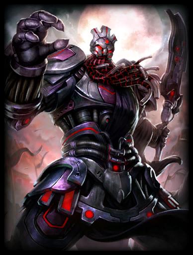 Grim Horseman Skin card