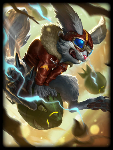 Squirrel Squad Skin card