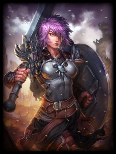 Battle Maiden Skin card