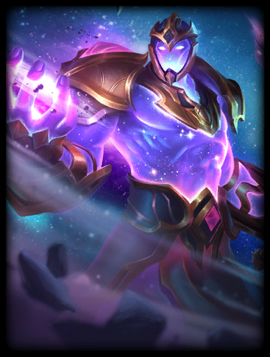 Cosmic Conqueror Skin card