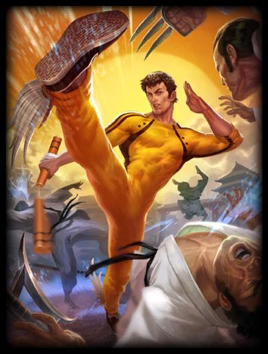 Shaolin Fury Skin card