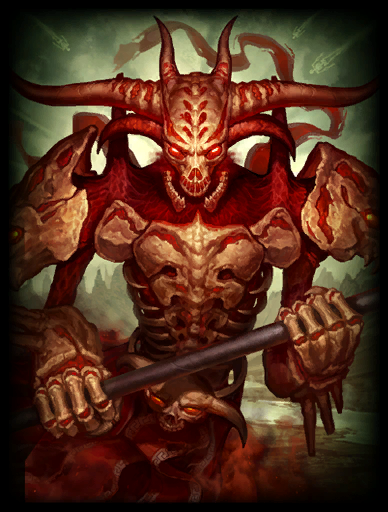 Bloodfire Skin card