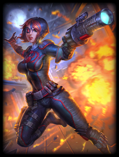 Scarlet Dangerfield Skin card