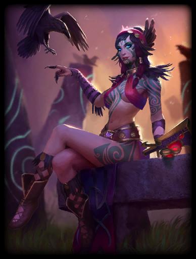 Scarlet Sorceress Skin card
