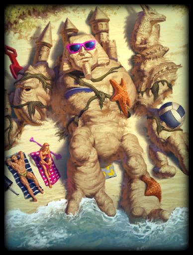 Life's a Beach Skin card