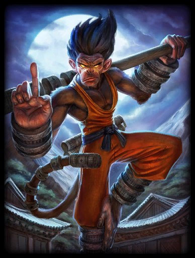Shaolin Monk-ey Skin card