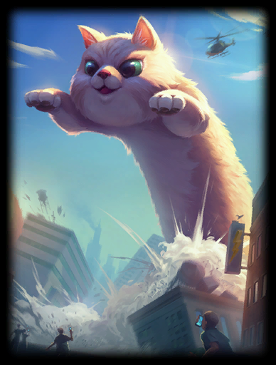 World Kitty Skin card