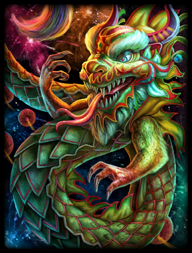 Sacred Dragon Skin card