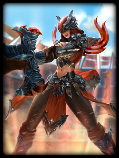 Red Vengeance Skin card