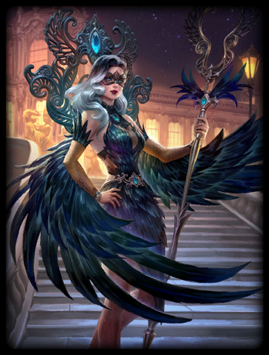 Midnight Raven Skin card