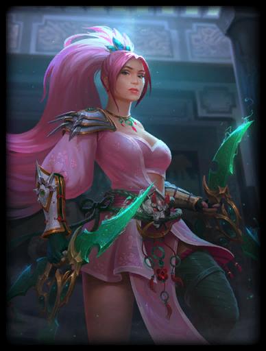 Pink Lotus Skin card
