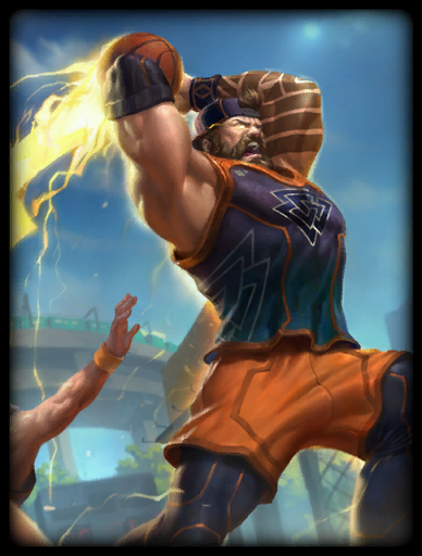 The Dunk-Father Skin card