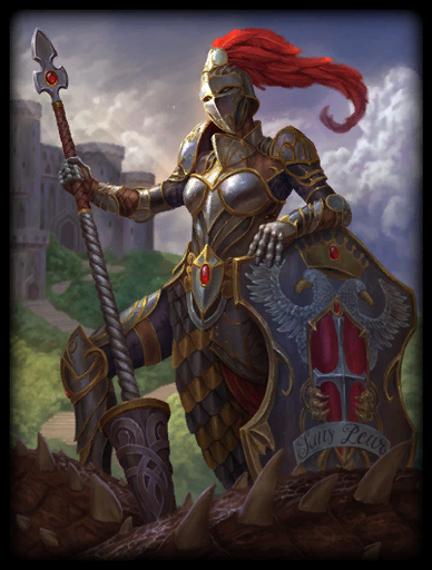 Knight of Wisdom Skin card