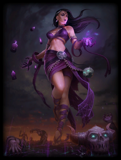 Dark Summoner Skin card