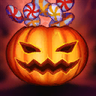 Pumpkin Surprise! Emote