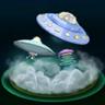 Alien Encounter Fountain Skin