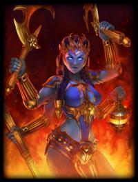 Golden/Legendary/Diamond Kali