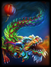 Original Sacred Dragon Skin card