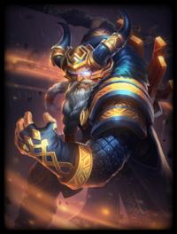 Golden Odin