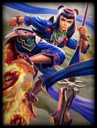 Blue Lotus Ne Zha