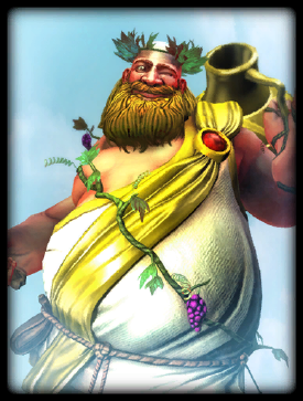 Regal Reveler Bacchus skin card