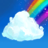 Cheery Rainbow Emote