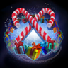 Happy Holidays Death Mark