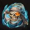 Skull and Crossbones Death Mark