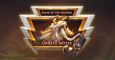 Ruler of the Heavens Update