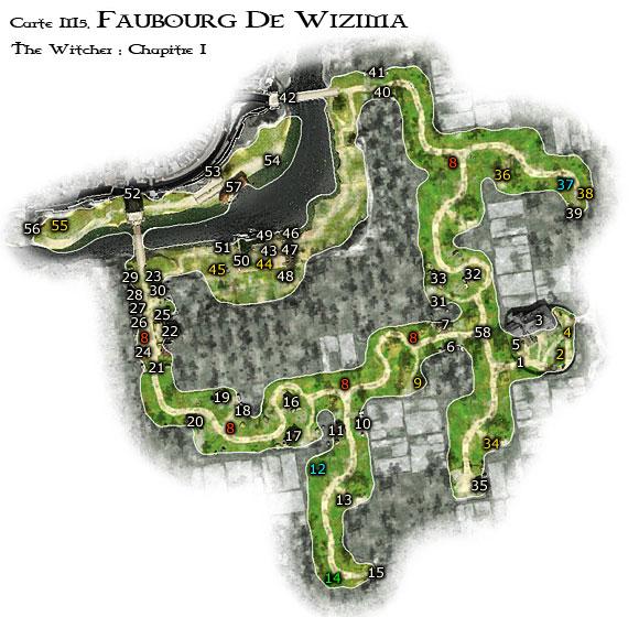 Map M5 - Faubourg de Wyzima