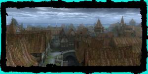 Quartier du Temple vue de la digue
