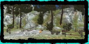 Camp des mercenaires
