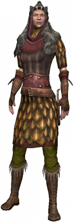 Lorethiel, une elfe chasseresse