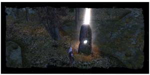 monolith Hod, avec son sephira