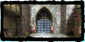 Portes du château royal